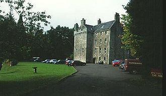 Clan Galbraith - Culcreuch Castle, former seat of the chiefs of Clan Galbraith.