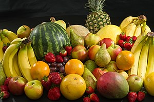 mmm look at all that fruit.