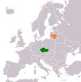 Czech Republic Lithuania Locator.png