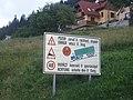 Dóval négynyelvű közlekedési tábla.JPG