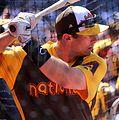 D-backs first baseman Paul Goldschmidt takes batting practice on Gatorade All-Star Workout Day. (28580367321).jpg
