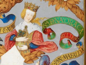 Urraca of Portugal - Urraca in Genealogy of the Kings of Portugal (António de Holanda, 1530–1534)