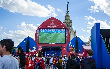 Moscow Fun Fest, Sparrow Hills. 20 June 2018 DSC 8405The world football championship in Russia 2018.jpg