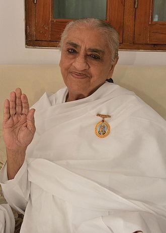 Brahma Kumaris - Dadi Gulzar, a member of the Brahma Kumaris since its inception in the 1930s