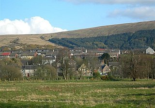 Dailly village in South Ayrshire, Scotland