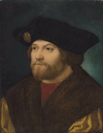 Damião de Góis - Portrait of Damião de Góis, 16th century, after an engraving by Albrecht Dürer