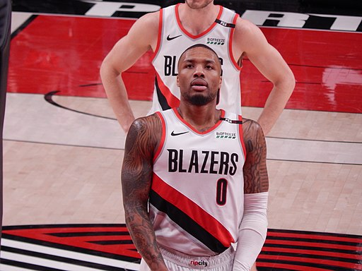 Damian Lillard against the Cleveland Cavaliers