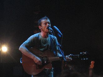 Damien Rice - Rice at the Coachella Valley Music and Arts Festival in 2007