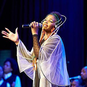 "Simphiwe Dana - Simphiwe Dana performing Live at ""Theatre on the Track"""