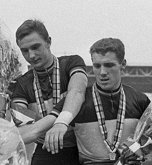 Robert Van Lancker - Daniel Goens and Robert Van Lancker (right) at the 1967 World Championships