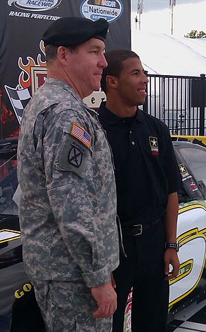 Drive for Diversity - Darrell Wallace, Jr. in 2011.