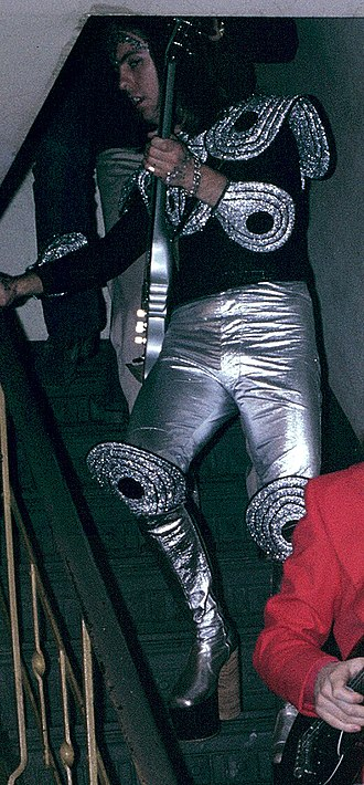 Dave Hill - Hill in his Slade stage gear in 1973