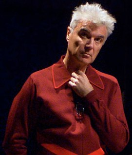 David Byrne discography Recordings by David Byrne, former singer for Talking Heads