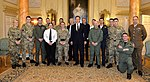 David Cameron with recipients of the latest Operational Honours and Awards February 2015.jpg