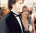 David E. Kelley and Michelle Pfeiffer at the 46th Annual Primetime Emmy Awards 1994.jpg