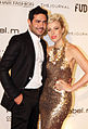 David Mannah and Natasha Bedingfield 2013.jpg