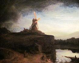Le Moulin (Rembrandt, peinture) — Wikipédia