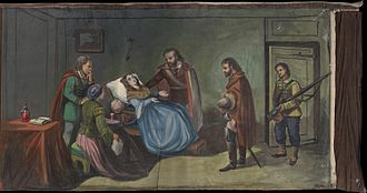 Anita Garibaldi - Anita dies in a farm house not far from Ravenna surrounded by Garibaldi, some of his comrades, and those who have granted her asylum as the Austrians seek them out.