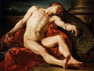 Jean-Simon Berthélemy - Image: Death of a Gladiator 1773 by Jean Simon Berthelemy