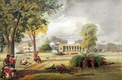 Verdediging van het Arrah House, 1857 door William Tayler