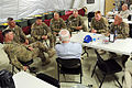Defense.gov News Photo 110605-D-XH843-017 - Secretary of Defense Robert M. Gates meets with unit commanders at a Forward Operating Base in Afghanistan, June 5, 2011.jpg