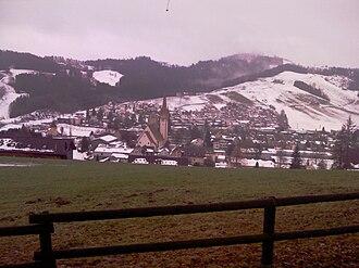 Degersheim - Degersheim Panoramo en vintro (Foto Dietrich Michael Weidmann)