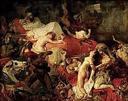 Eugène Delacroix: Death of Sardanapalus