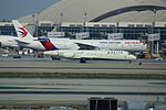 Delta N995AT at LAX arriving from SFO (24361618702).jpg