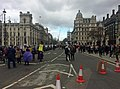 Demonstrations, Parliament Square (2) (geograph 6087364).jpg