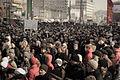 Demonstrators on the streets New Arbat (6825168726).jpg