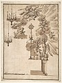 Design for an Altar for Easter Week Celebrations Decorated with Putti and Chandeliers MET DP810089.jpg
