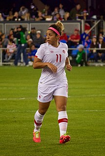 Desiree Scott Canadian soccer player