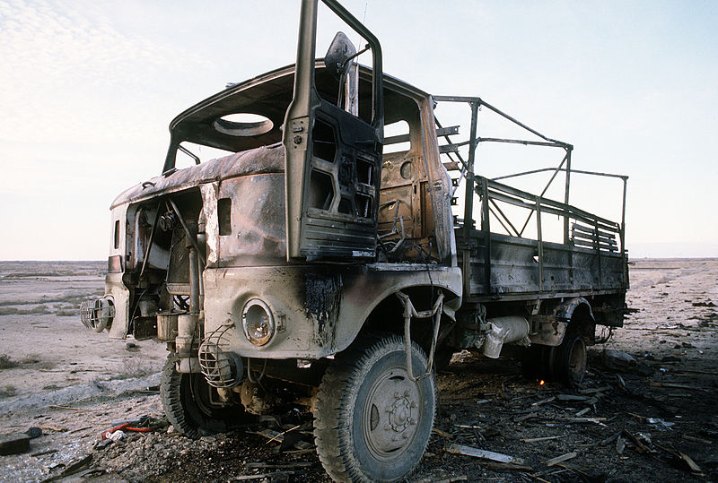 http://upload.wikimedia.org/wikipedia/commons/thumb/2/2f/Destroyed_IFA_W50_in_Iraq.JPEG/800px-Destroyed_IFA_W50_in_Iraq.JPEG