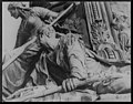 Detail of George Washington fountain, head of Parkway, North Philadelphia, Pennsylvania LCCN2004663850.jpg
