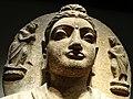 Detail of Seated Buddha - Gandhara, Pakistan - 2nd-3rd Cent. - Tokyo National Museum - Tokyo - Japan (47109489274).jpg