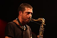 Deutsches Jazzfestival 2013 - Guillaume Perret and The Electric Epic - Guillaume Perret - 02.JPG