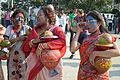 Devotees - Durga Idol Immersion Ceremony - Baja Kadamtala Ghat - Kolkata 2012-10-24 1517.JPG