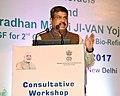 "Dharmendra Pradhan addressing the Consultative Workshop on ""New National Policy on Biofuels & Pradhan Mantri JI-VAN Yojana (VGF for 2nd Generation Ethanol Bio-refineries)"", in New Delhi.jpg"