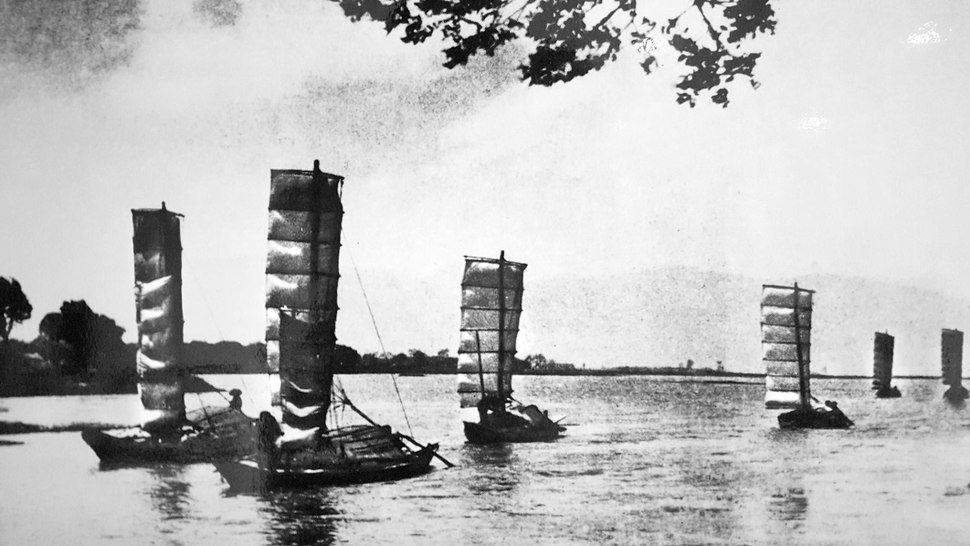 Dianchi boats 1940s