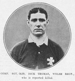 Dick Thomas (rugby union) Rugby player