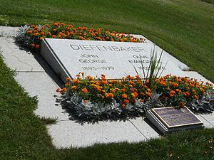 The Right Honourable John G. Diefenbaker Centre for the Study of Canada - Image: Diefenbaker John George