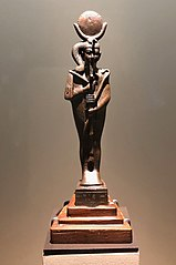Statuette du dieu-lune Khonsou momiforme