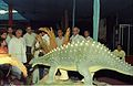 Dignitaries Watching Scelidosaurus - Dinosaurs Alive Exhibition - Science City - Calcutta 1995-06-15 023.JPG