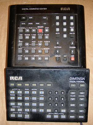 RCA Dimensia - Digital Command Center and Dimensia Digital Control
