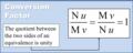 Dimensional quantity - Conversion Factor.png