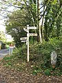 Direction Signs, Wenfordbridge. - panoramio.jpg