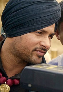 Director Simerjit Singh With Actor Amrinder Gill (cropped).jpg