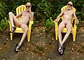 Displayed Naked Outdoors in a Lawn Chair - 1.jpg