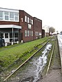 Disused Industrial Railway and Offices, Trafford Park Road - geograph.org.uk - 1130251.jpg