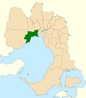 Division of Gellibrand Australian federal electoral division